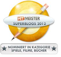 Nominiert in der Kategorie Spiele, Filme, Bücher