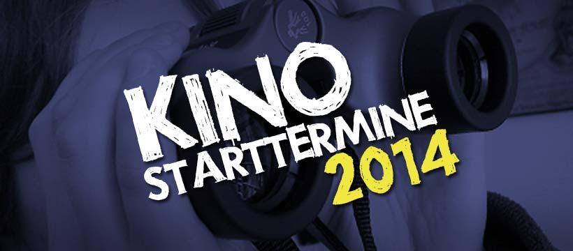 Kino-Vorschau 2014