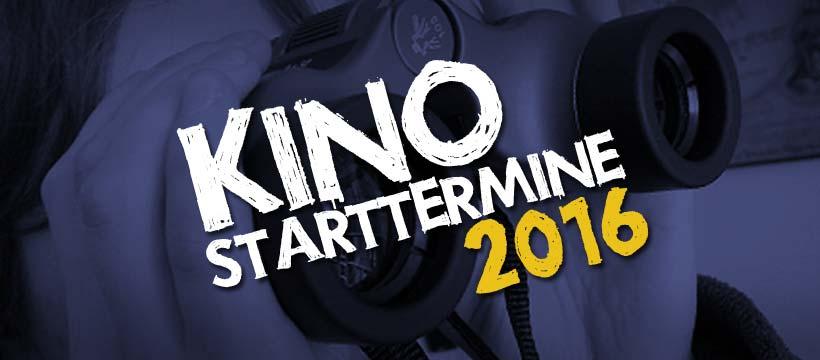 Kino-Vorschau 2016