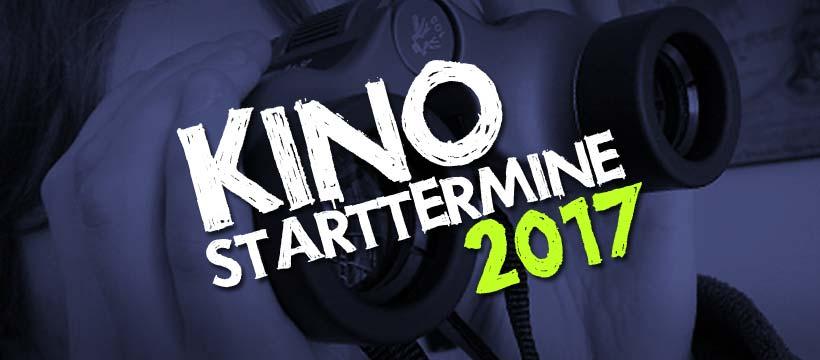 Kino-Vorschau 2017